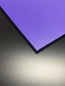 4mm Purple 24 X 48 25 Pack Corrugated Plastic Coroplast Sheets Sign