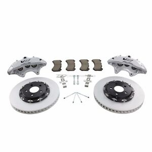 Zzperformance Cadillac Ats 14 6 Front Brake Upgrade W Brembo 6 Piston Calipers