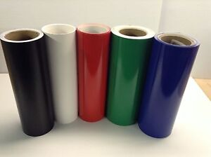 12 Adhesive Vinyl hobby Sign Maker Sheet 5 Rolls 5 Ft Ea By Precision62