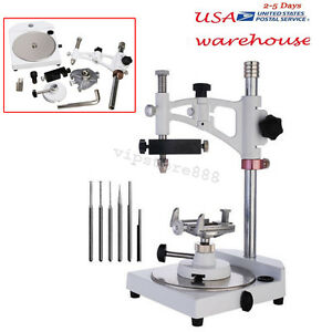 Dental Lab Parallel Surveyor Equipment Tools Handpiece Holder Adjustable Usa