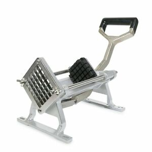 French Fry Cutter 1 2 Blade Stainless Steel Potato Vegetable Slicer Mountable