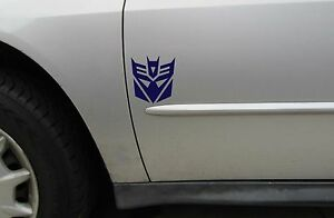 Transformers Decepticon Logo Sticker Vinyl Decal Decepticon Sticker