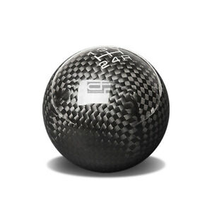 Nrg Racing Ball Style Weighted 5 speed Gear Shifter Shift Knob Carbon Fiber