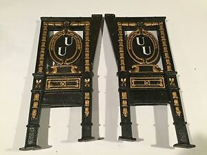 Antique Cast Iron Theater Seat Isle Ends Lot J0240027