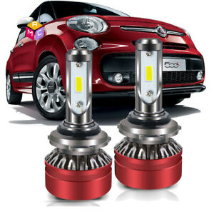2017 Led Headlight Bulbs Kit 9012 44w 6500k 8000lm High Or Low Beam Pair White