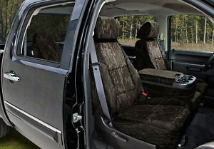 Coverking Mossy Oak Bottomland Camo Front Rear Seat Covers For Toyota Tacoma