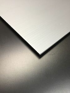 4mm Grey 24 X 48 25 Pack Corrugated Plastic Coroplast Sheets Sign