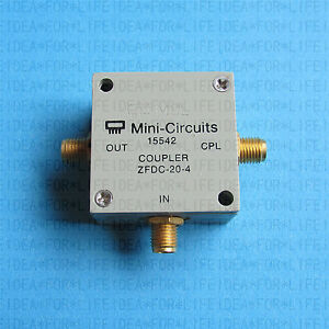 Used Good Mini circuits Zfdc 20 4 1 1000mhz 20db Coupler c2n9