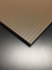 4mm Brown 24 X 36 25 Pack Corrugated Plastic Coroplast Sheets Sign