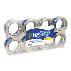 Duck Hp260 Packaging Tape 1 88 X 60yds 3 Core Clear 8 pack