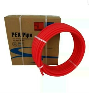 1 2 X300ft Pex Tubing Oxygen Barrier O2 Evoh Red 300 Ft Radiant Fl