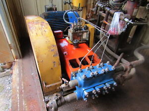 Used 12 X 9 Pump Building W wheatley 59t 3m Triplex Pump Unit