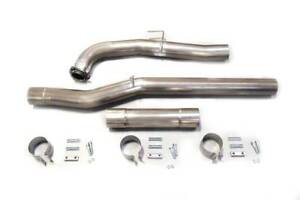 4 Dpf cat Delete Pipes For 2015 5 2016 Gmc Chevy 6 6l Lml Duramax Diesel 6 6