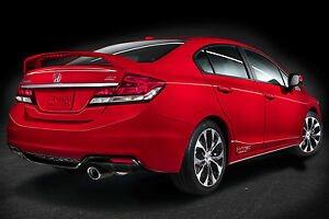 New Un Painted Gray Primer Fits Honda Civic Si 4dr 2013 2014 2015 Spoiler Wing