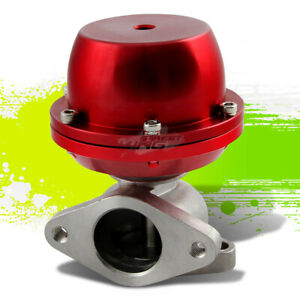 Turbo Turbocharger Manifold Red 38mm External Waste Gate 8 Psi Spring Flange