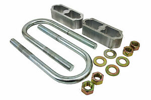 1960 72 Chevy Truck Lowering Block Kit 2 For Coil Spring Suspension Only