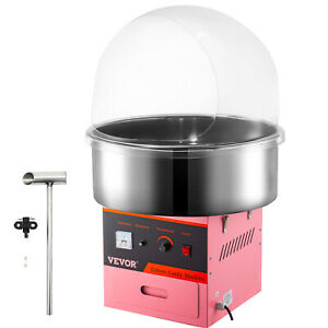 Carnival Electric Cotton Candy Maker Floss Machine Pink Commercial Party W cover