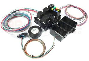 Ls Swap Harness Diy Fuse Block Kit For Factory Harness Rewire With Fan Relays
