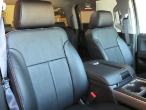 Chevy Silverado Clazzio Leather Seat Covers