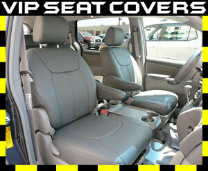 Toyota Sienna Clazzio Leather Seat Covers Fits Toyota