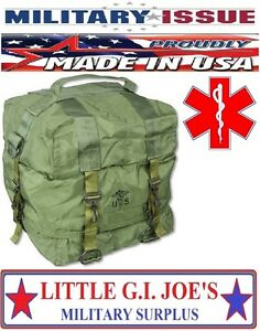 Military Issue M17 Medic Bag For Your First Aid Kit Trifold W carry Strap New
