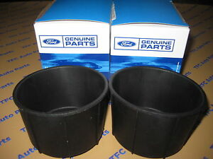 Ford F 150 Rear Console Rubber Cup Holder Inserts Set Of 2 Oem New 2009 2011
