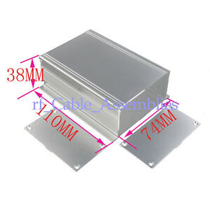 10x Aluminum Project Box Case Electronic Box1166 Al Enclosure 4 33 2 91 1 49