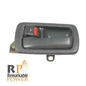 For 92 96 Toyota Camry Inside Door Handle Front Rear Left Gray