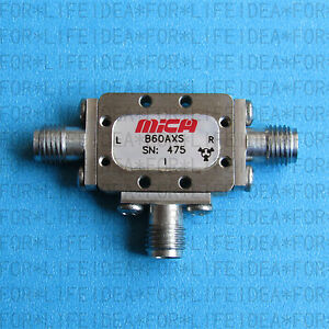 1pcs Used Good Mica Microwave B60axs 6 10ghz Sma Rf Mixer