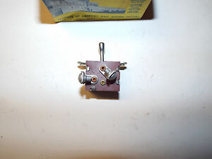 1946 1947 1948 Plymouth Nos Dashboard Light Switch Toggle Mopar P15 Special Wow