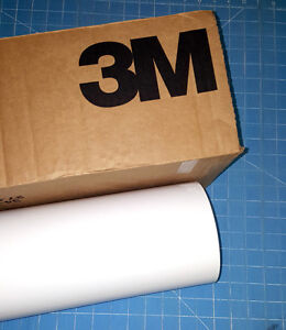 White 3m Scotchcal Series 50 1 Roll 24 X 50 Sign Cutting Vinyl