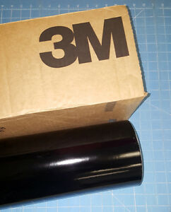 Black 3m Scotchcal Series 50 1 Roll 24 X 50 Sign Cutting Vinyl