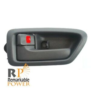 Inside Front Or Rear Left Driver Side Door Handle Gray Fits 97 01 Toyota Camry
