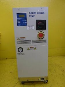 Smc Hrz010 ws Thermo Chiller Tel 3d13 000007 v1 Tested Not Working As is