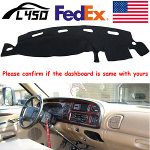 For Dodge Ram 1500 2500 3500 1998 2001 Dashmat Dash Cover Dashboard Mat Carpet