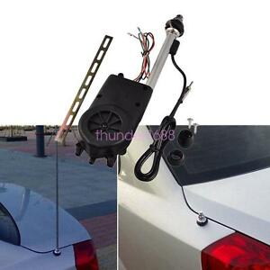 Power Antenna Am Fm Radio Mast Replacement Kit Oem Car Signal Booster Aerial 12v