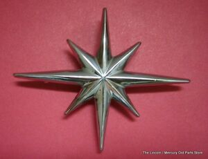 1958 Lincoln Front Door Star Ornament Bak 5720980 a nice Repro Last One