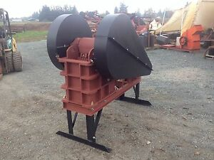 Jaw Crusher 8 X 12 10hp For Rock Crushing Mining Concrete Asphalt 2 6 Tph
