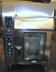Alto Shaam Electric 10 10 Mls Combitherm Oven With Hood