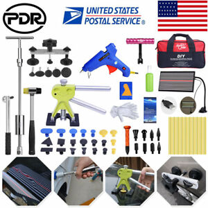 Paintless Hail Repair Dent Puller Lifter Pdr Tools Auto Body 73pcs Removal Kits