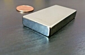 25 Neodymium N52 Block Magnet Super Strong Rare Earth 2 X 1