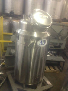 110 Gallon A b Process System Reactor Stainless Steel