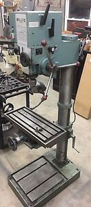 Wilton Strand Gear Head Variable Speed Drill Press And Milling Table