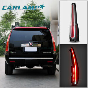 Led Tail Lights For Cadillac Escalade 2007 2014 Rear Light 2016 Model Assembly