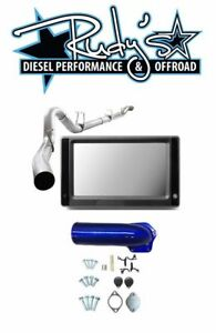 Touch Screen Tuner Dpf Egr Delete 4 Exhaust For 2008 2010 Ford 6 4l Powerstroke