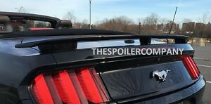 Unpainted Rear Spoiler For 2015 2020 Ford Mustang Convertible cali Gt Style