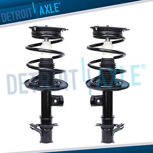 Front Struts W Coil Spring Set For 2007 2008 2009 2010 2011 2012 Nissan Altima