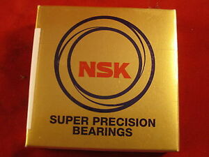 Nsk Precision Ball Screw Support Bearing 20tac47bsuc10pn7b