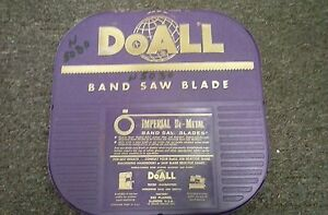 Nos Doall Precision Imperial 1 4 Band Saw Blade 100ft Type 303 009
