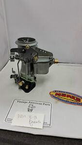 1942 Plymouth Dodge Restored Carburetor Rebuilt D6g1 Carter Flathead Six Engine